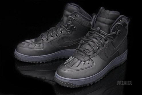 Nike Air Force 1 Duck Boot - Black/Black