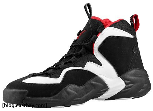 Nike Air Go LWP - Black/White-Varsity Red