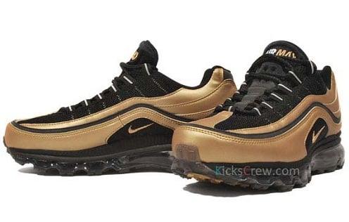 Nike Air Max 24/7 - Black/Metallic Gold-White