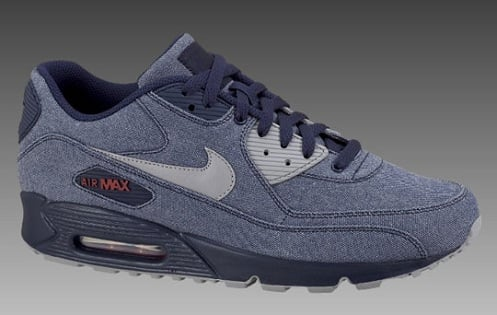 "Nike Air Max 90 ""Denim"" Pack"
