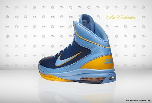 """Nike Air Max Hyped - Zach Randolph """"Away"""" PE"""