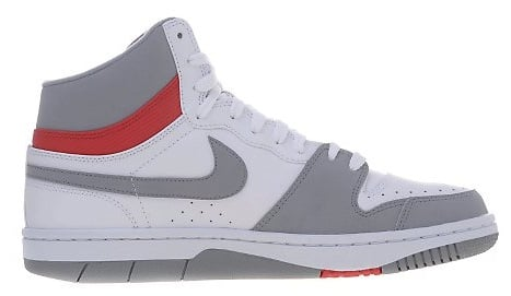 Nike Court Force Hi - White/Stealth-Sport Red