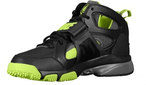 Nike Zoom Huarache Trainer Black/Volt-Dark Grey