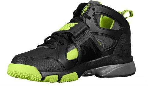 Nike Zoom Huarache Trainer Black/Volt-Dark Grey