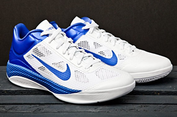 Nike Zoom Hyperfuse Low - White/Blue | SneakerFiles