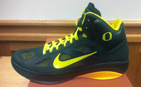 Nike Zoom Hyperfuse - Oregon Ducks PE
