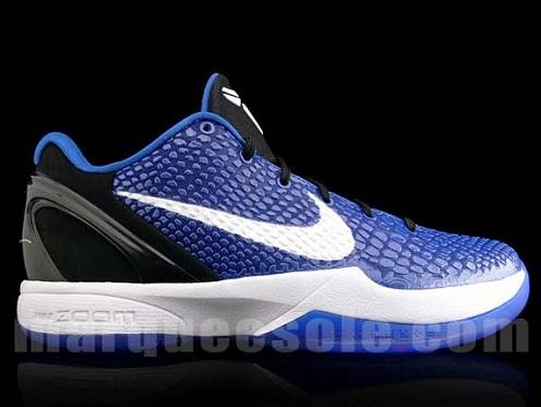 "Nike Zoom Kobe VI ""Duke"" - Release Information"