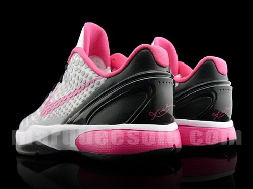 Nike Zoom Kobe VI GS - Grey/Pink/Black