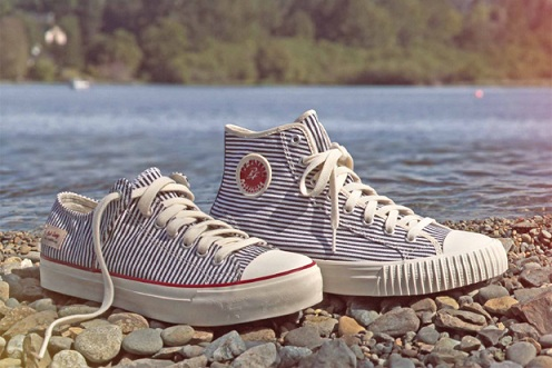 "PF Flyers Center Hi & Cousy Lo - ""Hickory Stripe"""
