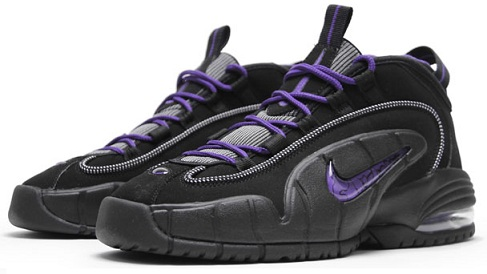 Release Reminder: Nike Air Max Penny Black/Club Purple-Bright Mandarin