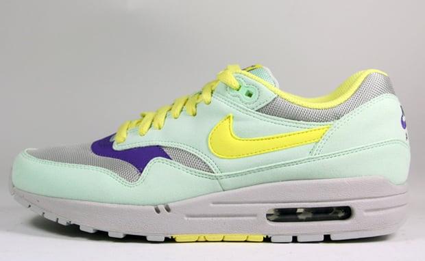 Women's Nike Air Max 1 Filament/Green-Lemon