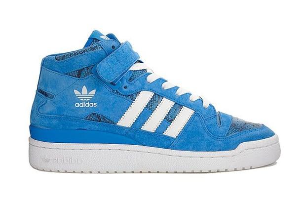 "adidas Originals Forum Mid ""Blue Snakeskin"""