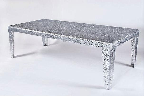 Michael Jordans Dinner Table With 32292 Holes