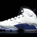 Jordan 6-17-23 White / Black / Blue