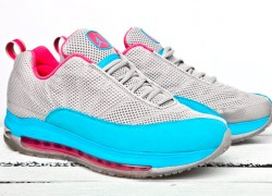 Jordan CMFT Max Air 12 - Grey/Bright Blue/Pink