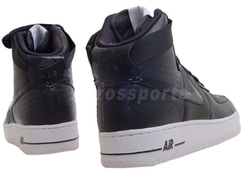 Nike-Air-Force-1-High-Premium-'Wool-Snake'-Black-New-Images-03