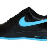 Nike Air Force 1 Low '07 Black/ Chlorine Blue Now Available