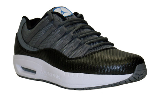 5162775ab9b9af The Jordan CMFT Viz Air 11  Carbon Fiber  is now available at online  retailer ANYCOnline. The official colors used are Cool Grey  Orion Blue   Black- White.