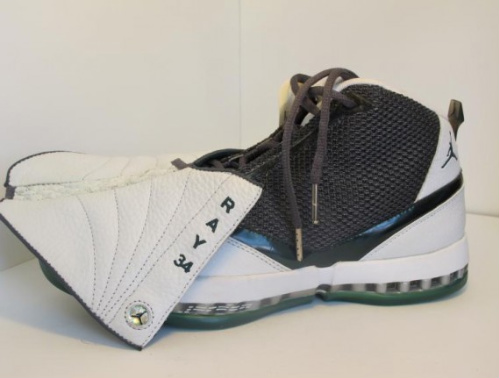 super popular bab28 0707a Photos NBA  Air-Jordan-XVI-Ray-Allen-PE-01 ...
