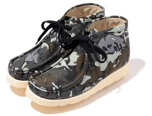 A Bathing Ape Manhunt Boots - Octopus Tailor Camo