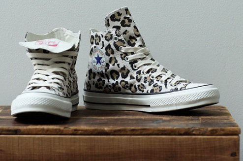 "Converse Addict All Star Hi ""Leopard"""