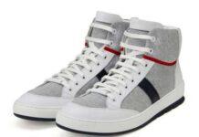 "Dior Homme ""Sweat"" High-Top Sneaker"