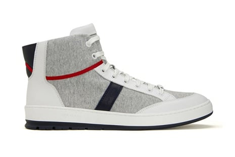 "Dior Homme ""Sweat"" High-Top Sneaker"
