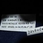 Air Jordan 1 Sample Available on eBay