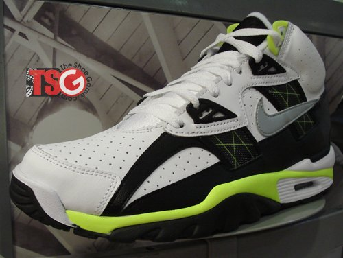 Nike Air Trainer SC High - Black/White/Volt