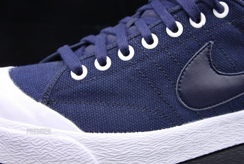 Nike All Court Low - Obsidian/White