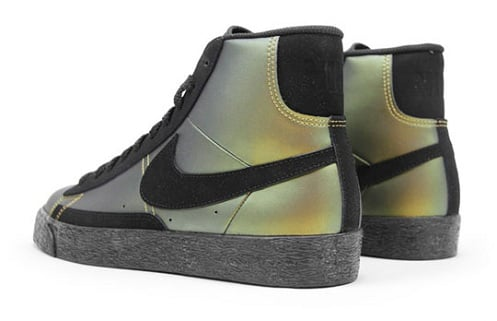 "Nike Blazer ""Foamposite"" - Metallic Gold"