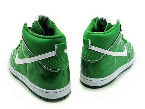 Nike Dunk Hi GS - St. Patrick's Day 2011