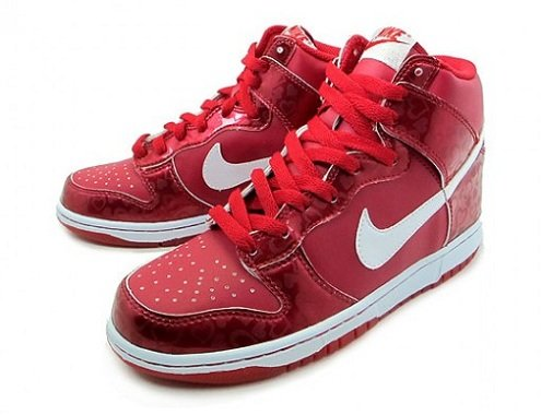 Nike Dunk High GS - Valentine's Day 2011