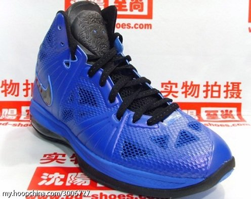 Nike Lebron 8 P.S. Royal/Black - New Images