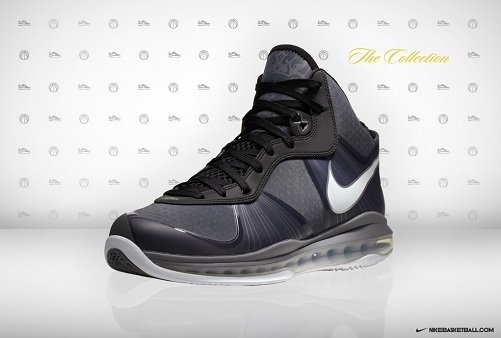 lebron 8 v2. Nike Lebron 8 V2 Black/Grey