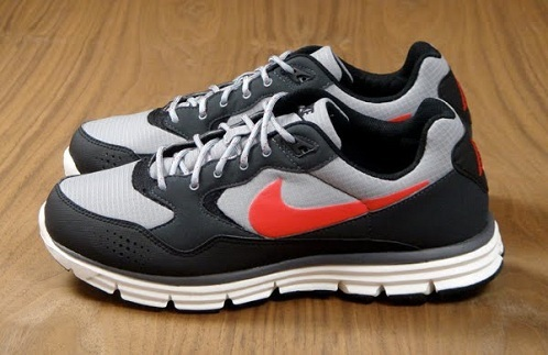 Nike Lunar Wood+ Matte Silver/Challenge Red/Black
