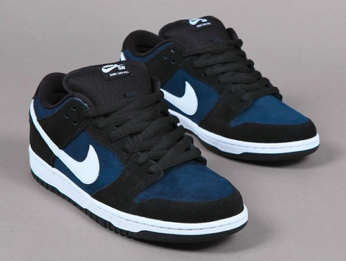 Nike SB Dunk Low - Obsidian/White