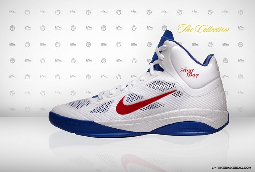 "Nike Zoom Hyperfuse - Randy Foye ""Home"" PE"