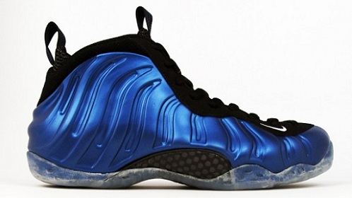 Royal Nike Air Foamposite One - 21 Mercer NYC Release