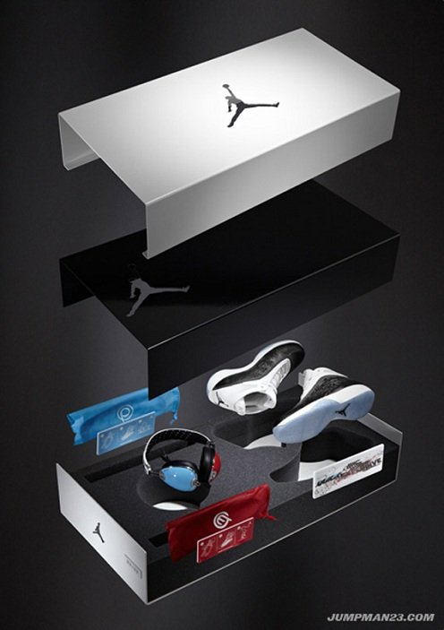 Skull Candy x Air Jordan 2011 & Retro III (3) Headphone Packs