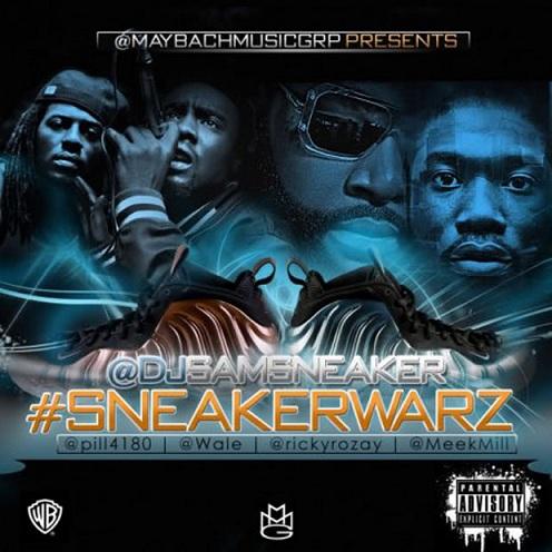 """""""Sneaker Warz"""" Mixtape by MMG x DJ Sam Sneaker"""