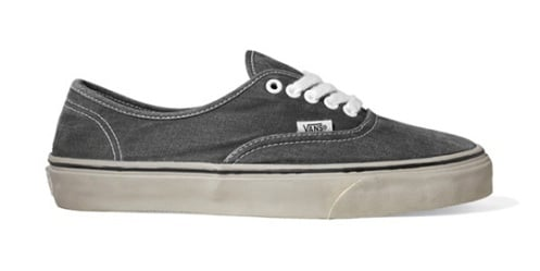 """Vans California Authentic & Slip-On """"Washed"""" - Spring 2011"""