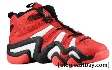 adidas Crazy 8 University Red On Display Tonight