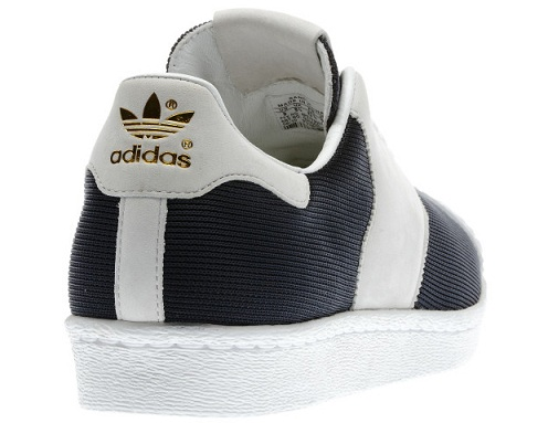 adidas Originals Superstar Saddle DB - White/Navy