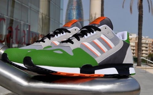 adidas Originals ZX800 - Aluminum/Lime