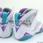 Air Jordan VII (7) GS White/ Neutral Grey/ Mineral Blue/ Bright Violet – New Images