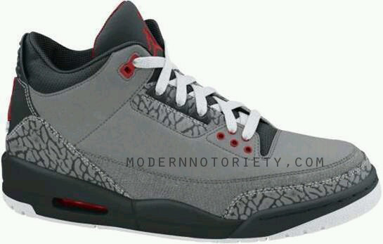 premium selection e82c3 af628 Air Jordan III 3 – Stealth – Varsity Red – Black – White