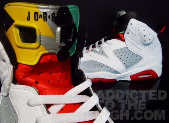 Air-Jordan-VI-'Hare'-Customs-By-Mizzeecustoms-01
