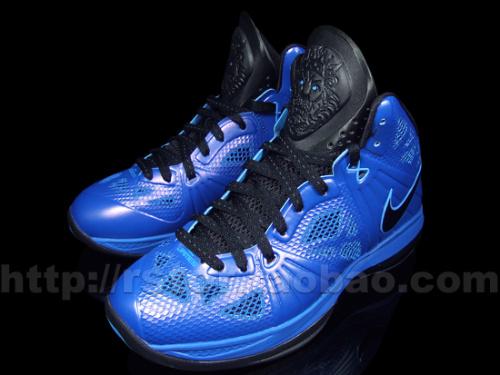 Nike-LeBron-8-P.S.-Varsity Blue/Black-New-Images-02
