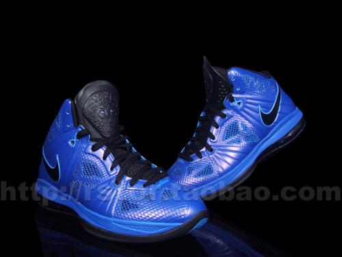 Nike-LeBron-8-P.S.-Varsity Blue/Black-New-Images-01